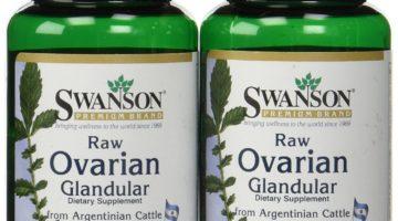Swanson Premium Raw Ovarian Grandular Pills