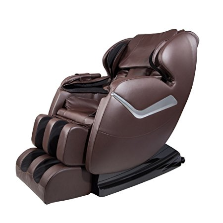 Real Relax Full Body Massage Chair Recliner - Zero Gravity Shiatsu, Armrest Linkage System