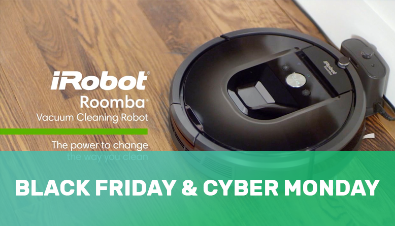 Roomba Irobot Vacuum Black Friday Amp Cyber Monday Deals