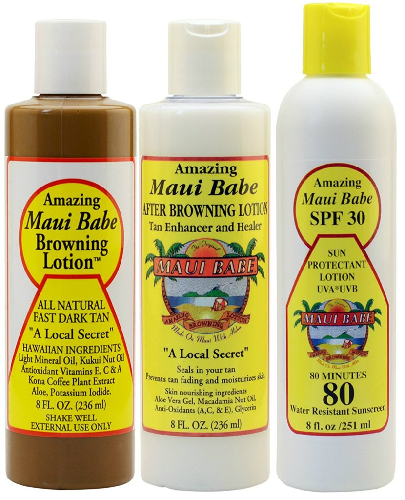 Maui Babe Variety Beach Browning Lotion