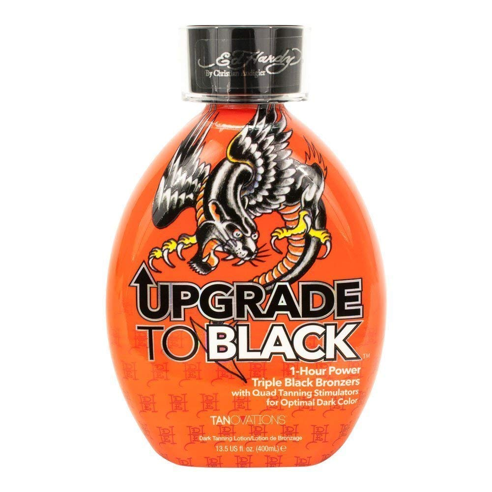 Ed Hardy UPGRADE TO BLACK Triple Black Bronzer