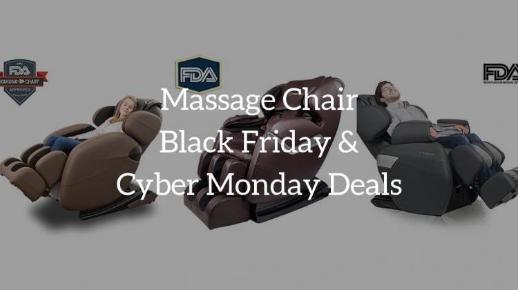 Massage Chair Black Friday & Cyber Monday Deals 2018