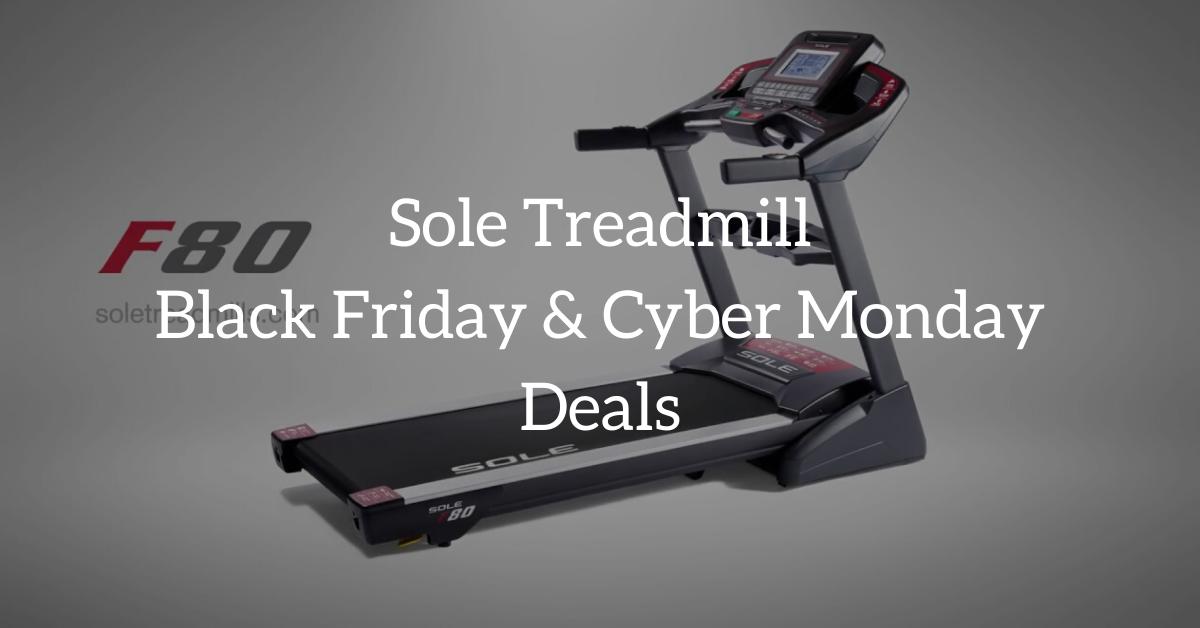 Sole Treadmill black friday