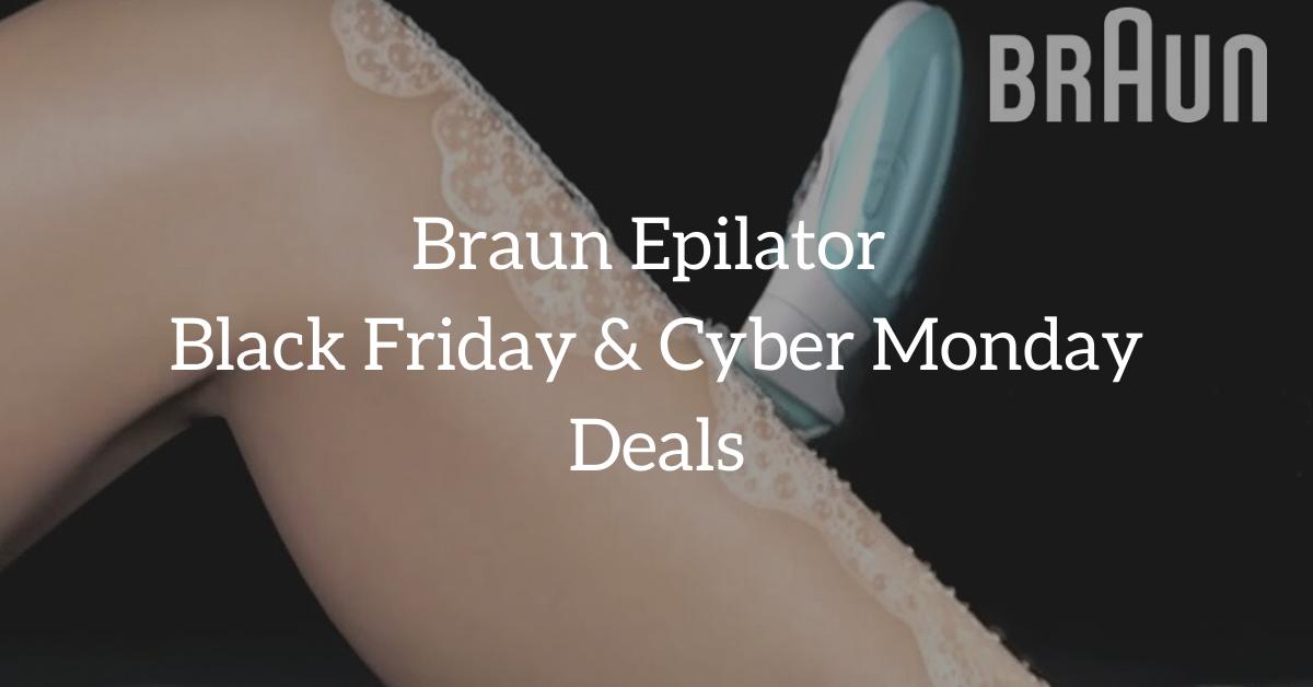 braun epilator black friday