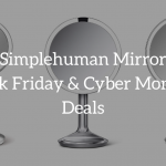 simplehuman mirror black friday