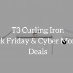 t3 curling iron black friday