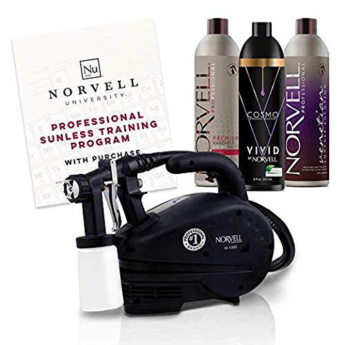 Norvell HVLP Sunless Spray Tan Airbrush Machine